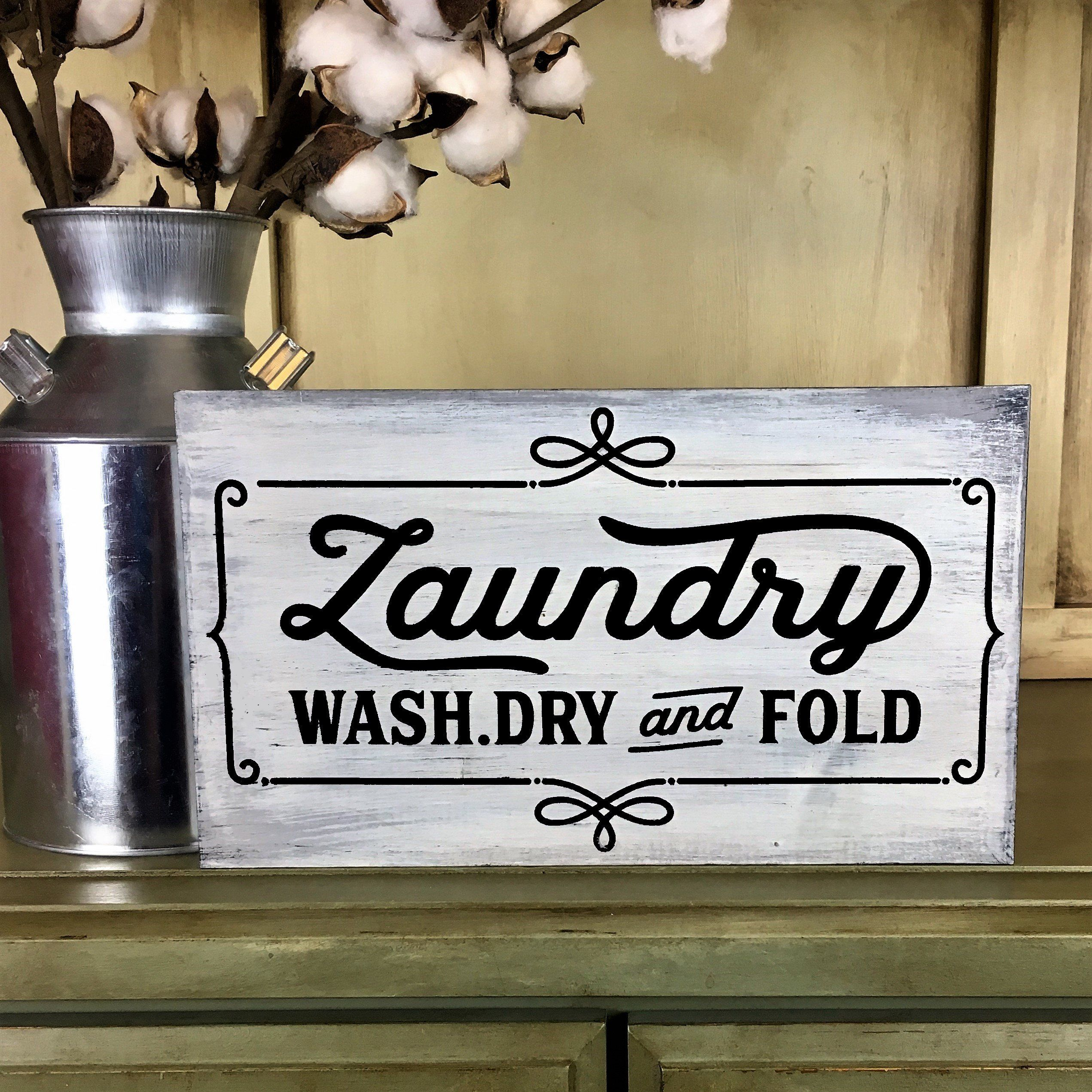 Wash Dry Fold Repeat Laundry Room Decor Laundry Sign Laundry Room Sign Laundry Room Wall Art Wash And Dry Sign New Home Gift Laundry Laundry Room Wall Art Laundry Room Signs