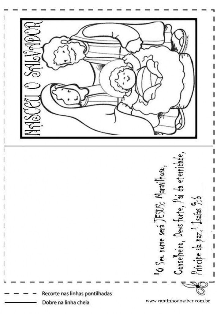 Cartoes De Natal Para Imprimir Como Fazer Cartao Fazer Cartoes