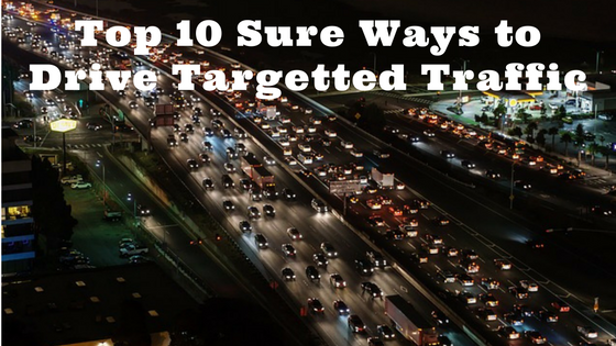 Top 10 Sure Ways to Drive Targeted Traffic to Your Affiliate Marketing Site   The Online Living