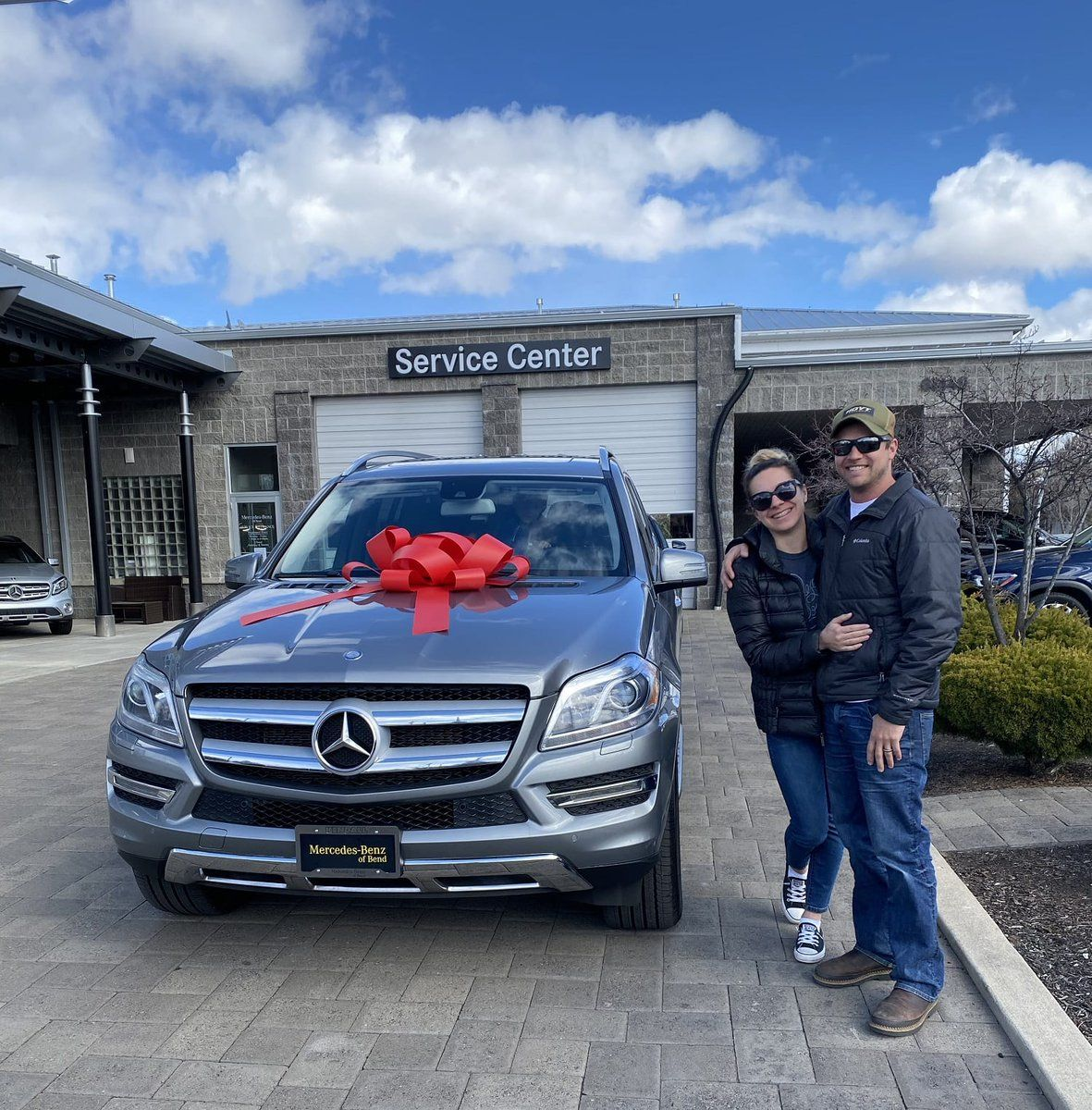 Congratulations To Brian Gedrose They Just Purchased A Mercedes Benz Gl450 From Cash Mcconnell And We Wanted Mercedes Benz Service New Mercedes Car Dealership