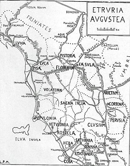 Strade romane in etruria antiche mappe di toscana pinterest civilization e map - L antica toscana cucine da incubo ...