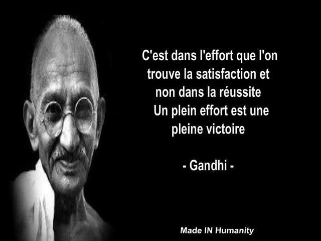 Citations Sur Le Leadership Recherche Google Gandhi