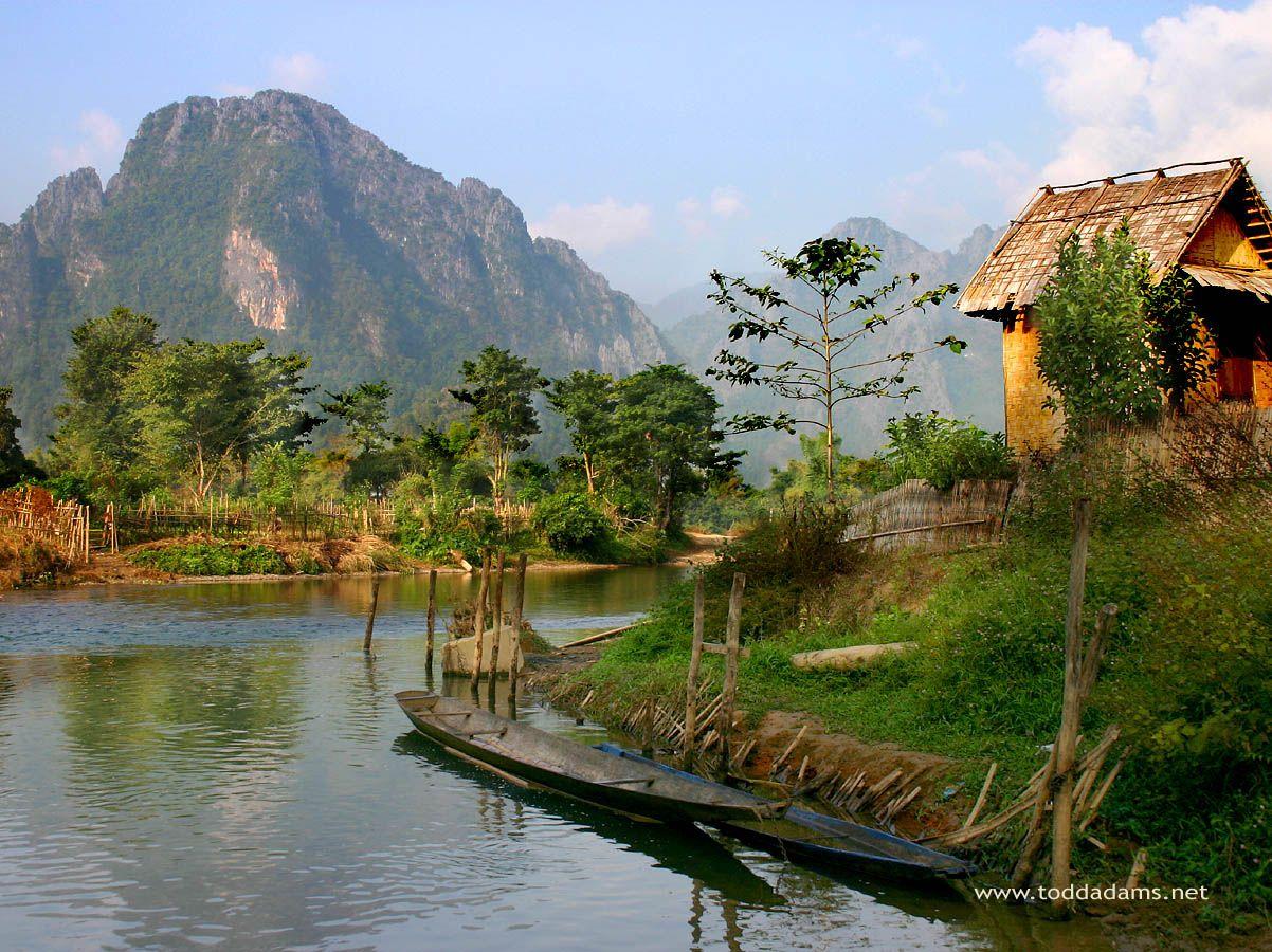 Luang Prabang, Laos - this week :)