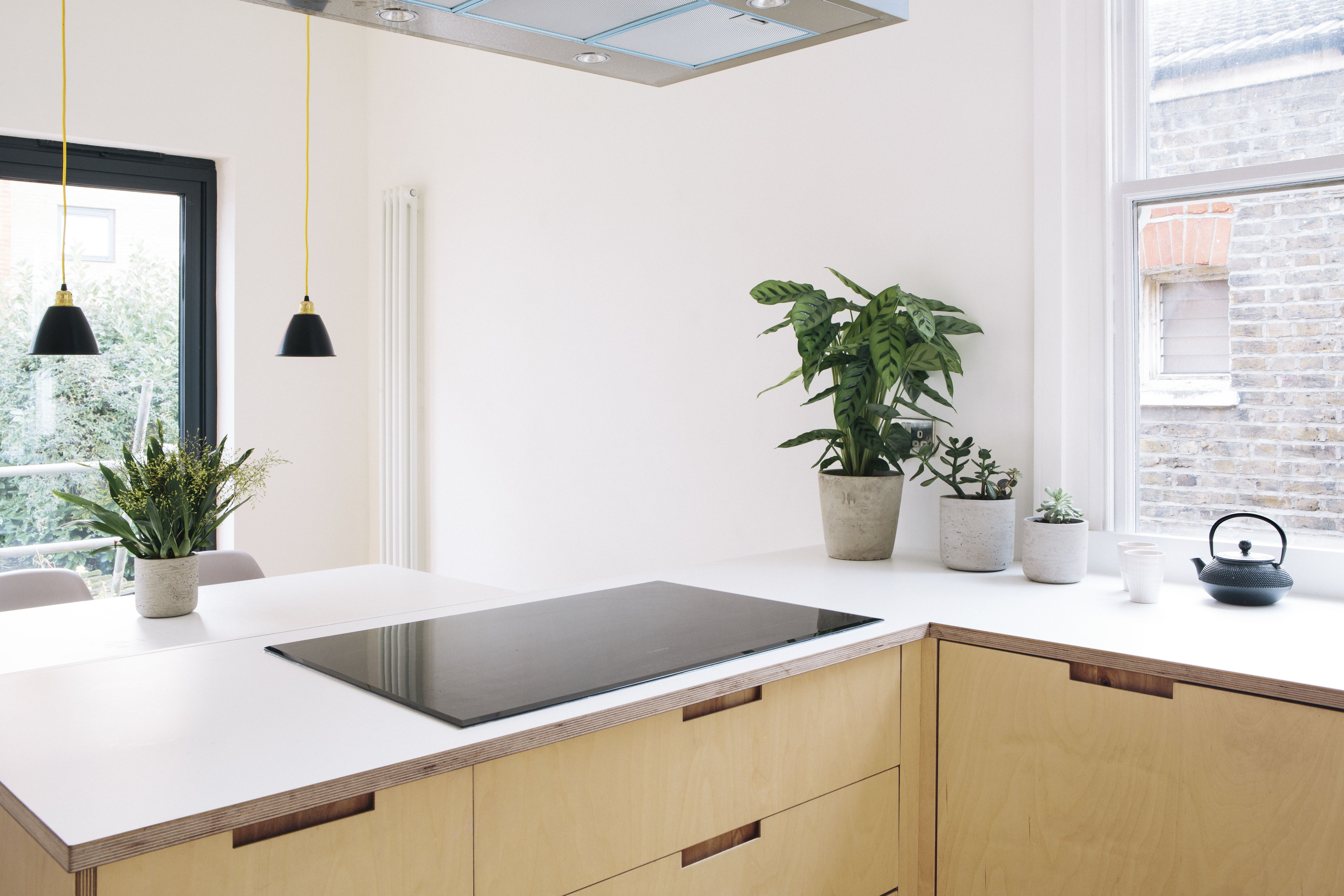 Plywood and Formica Kitchen in 2020 Simple kitchen