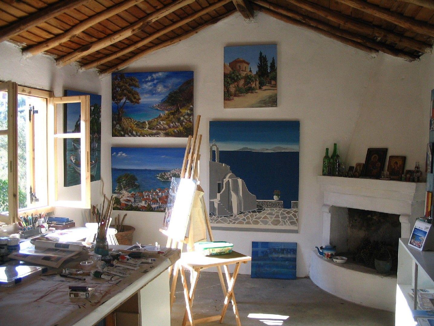 garage art studio ideas