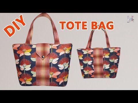 TOTE BAG | TOTE BAG TUTORIAL | BAG MAKING | SEWING TUTORIAL | Coudre un sac | Bolsa de bricolaje