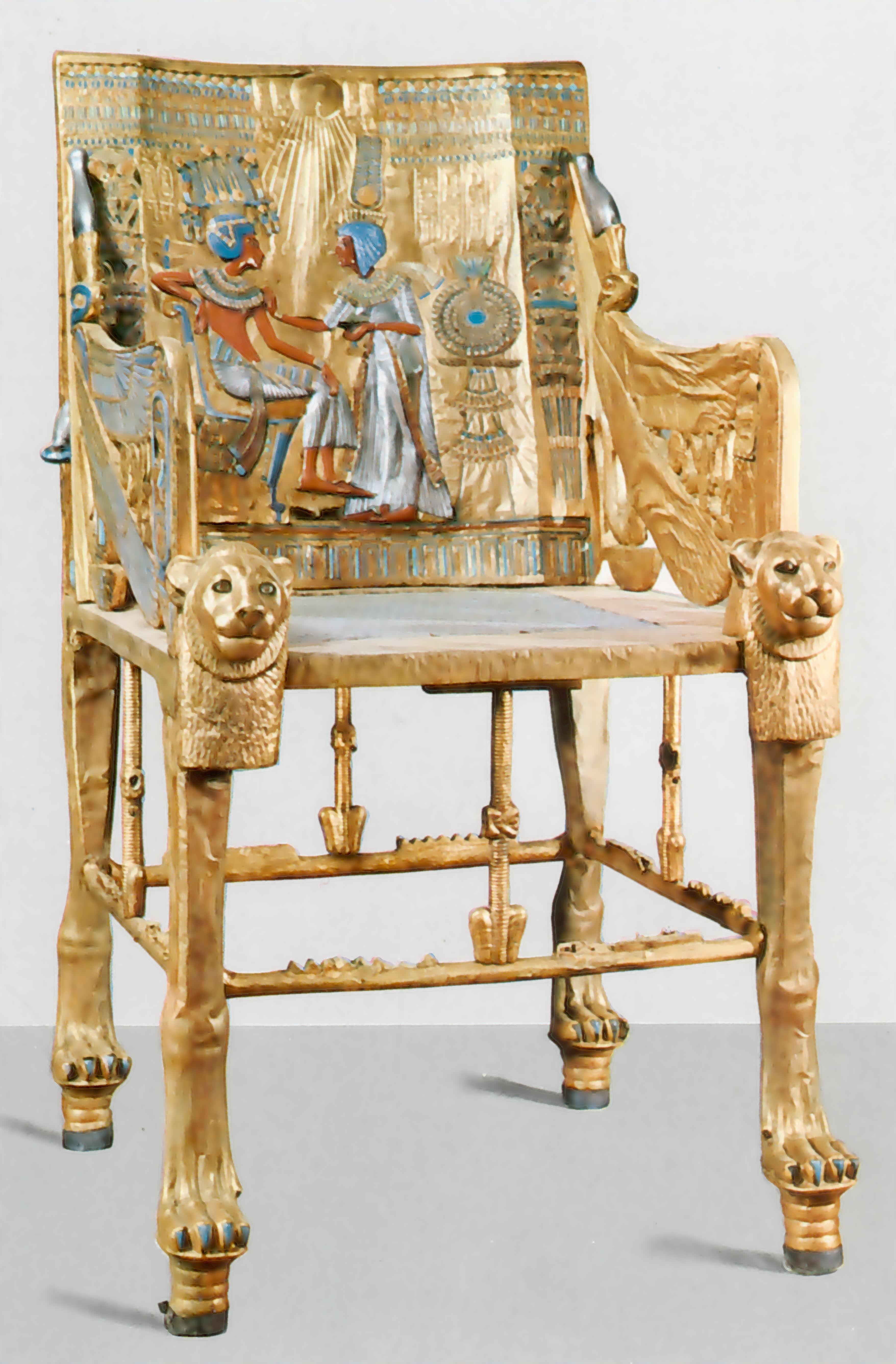 Kingtutthrone Jpg 3512 5344 Egipto Pinterest Egipto  # Muebles Egipcios Caracteristicas
