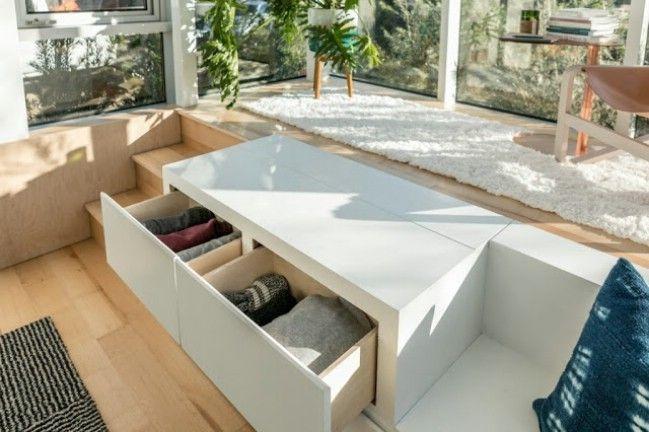 Dean S Designs Minimalistische Und Schlanke Stapelbare Kleine Hauser