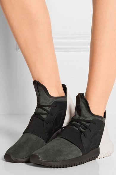 Adidas . Tubular Defiant faux suede 8d402113dae2
