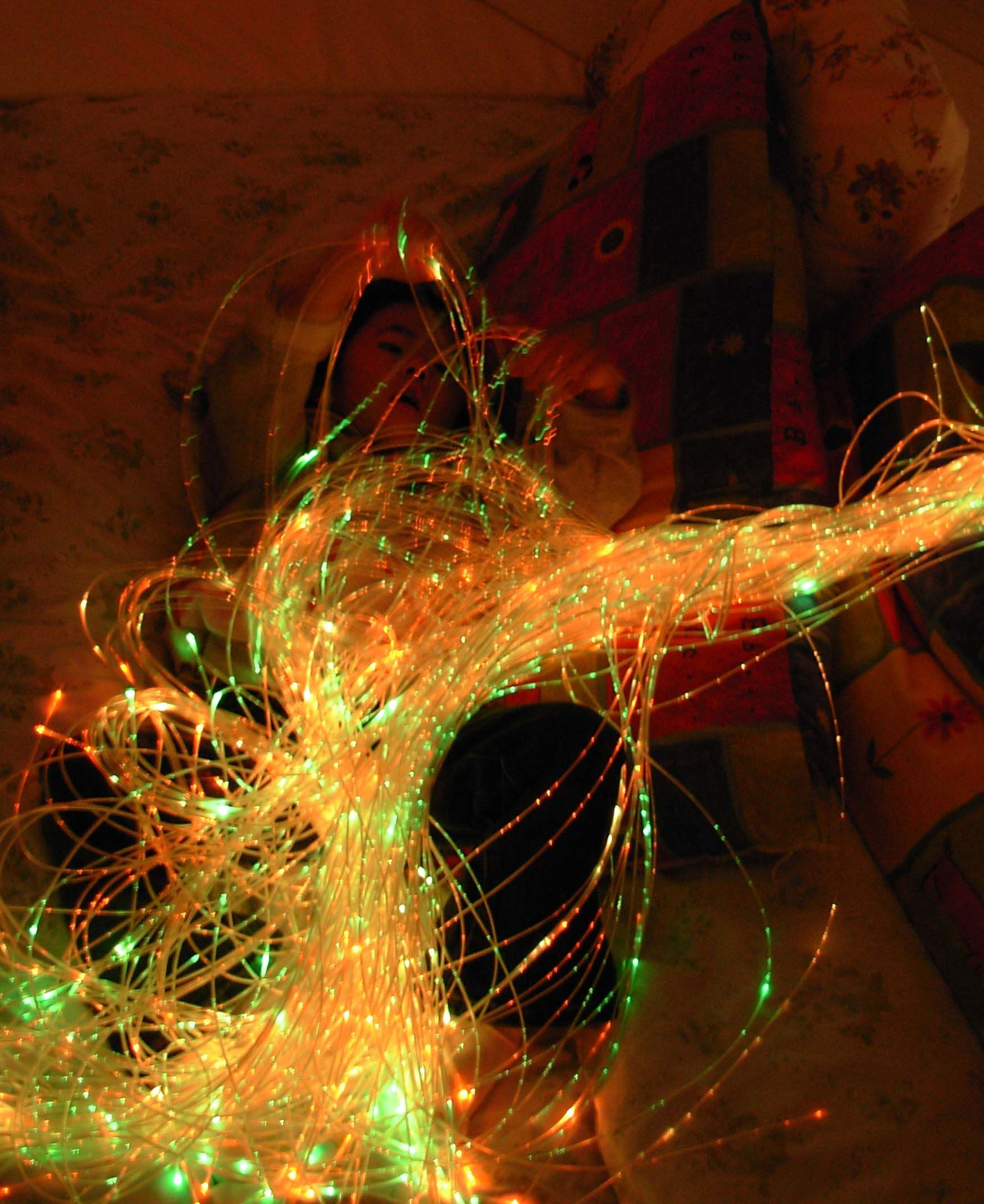 Rope Lights Sensory: Snoezelen Rooms!! I Want One!