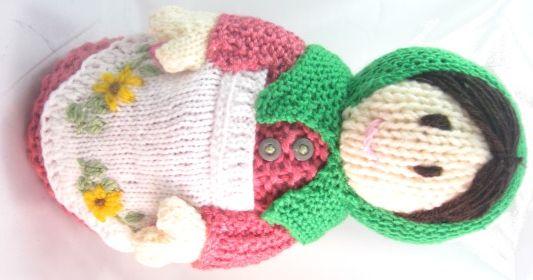 Babushka Russian Doll - Spring   Craft projects, Yarn ...