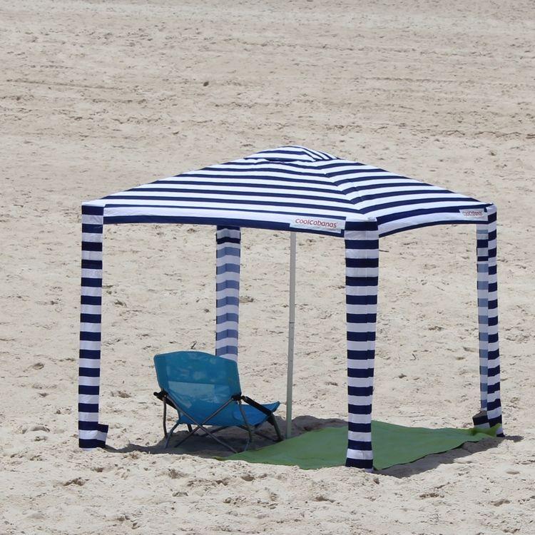 Cool Cabanas Beach Umbrella Meets Canopy Tent