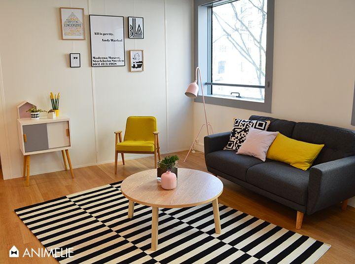 decoration salon d\'attente professionnel style scandinave par la ...