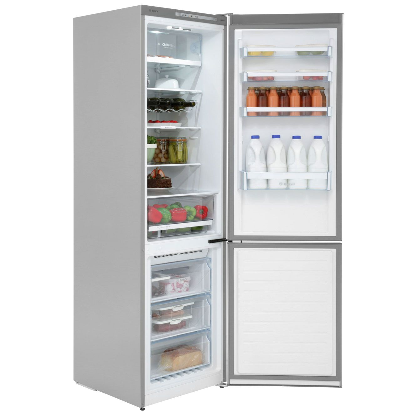 Bosch Exxcel Fridge Freezer | KGN39VL31G | ao.com | Appliances ...
