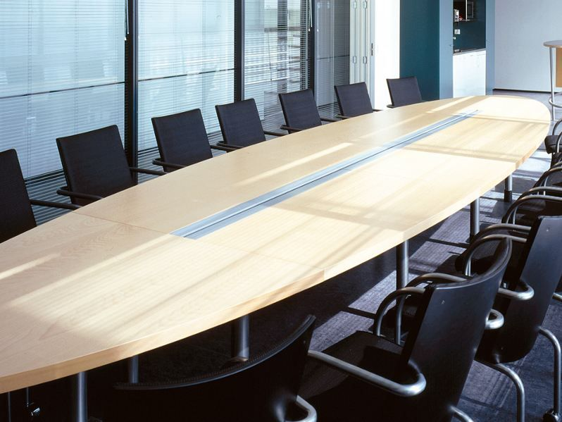 IN-TENSIVE Modular meeting table by Inno Interior Oy design Jouni ...
