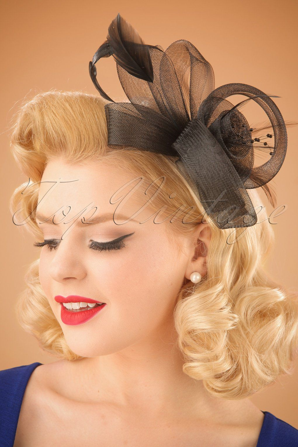 1950s Womens Hats By Style Fascinator Hairstyles Fascinator Hairdo Wedding