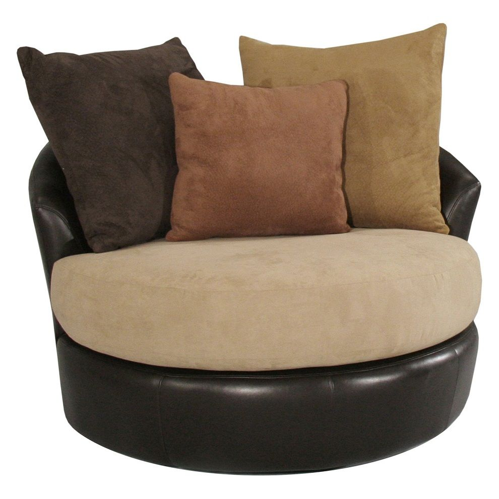 Image of Round Oversized Chaise Lounge Indoor  sc 1 st  Pinterest : comfy chaise lounge - Sectionals, Sofas & Couches