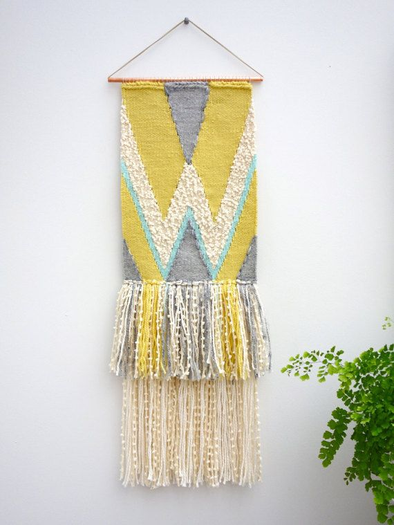 Woven wall hanging / \