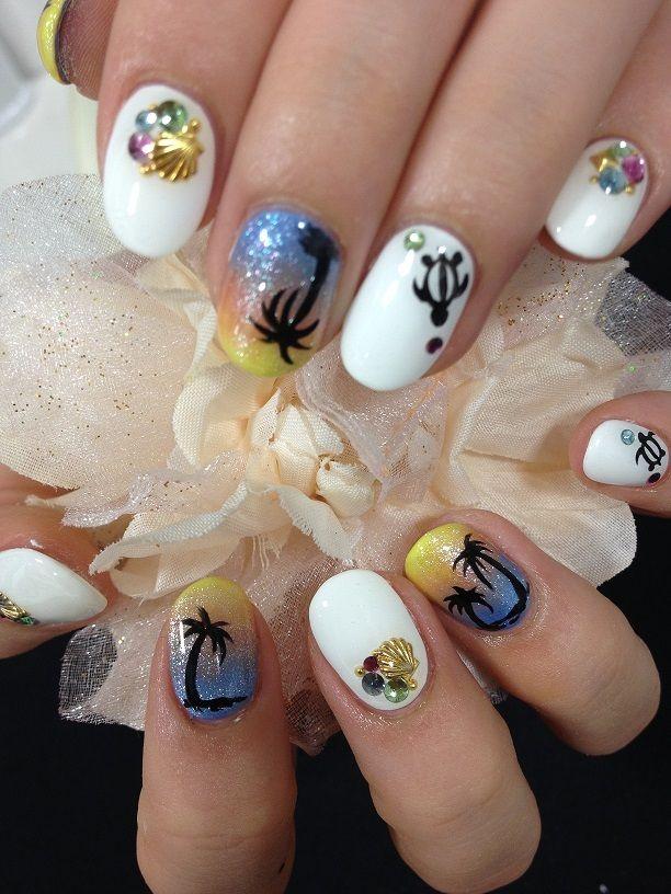 夏ネイル☆の画像 | TRUNAIL(トゥルーネイル)のブログ 渋谷/原宿/大宮/福岡天神/…