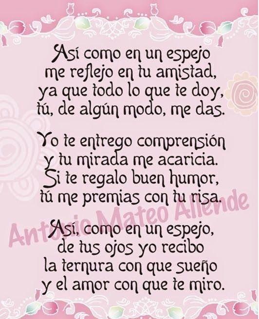 Poems De La Amistad 5