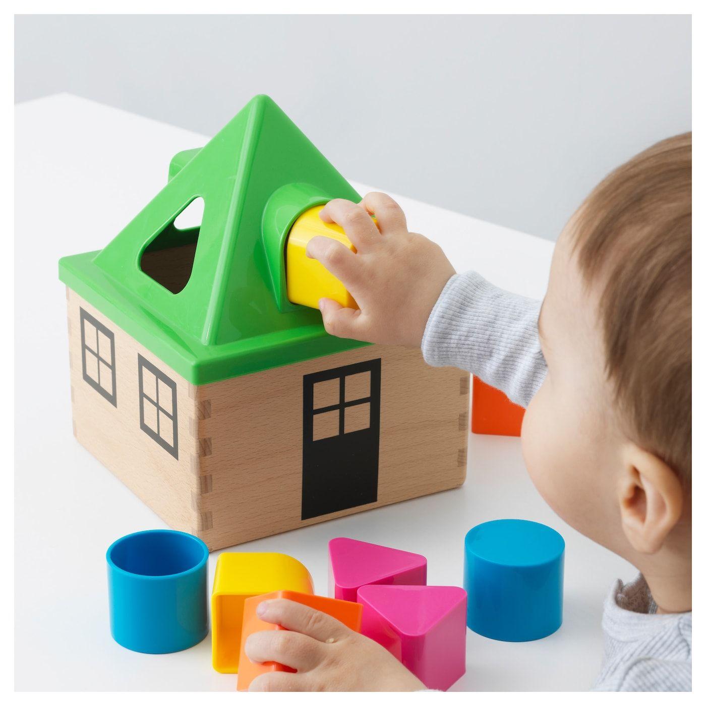 MULA Shape sorter - multicolour | Ikea, Classic toys ...