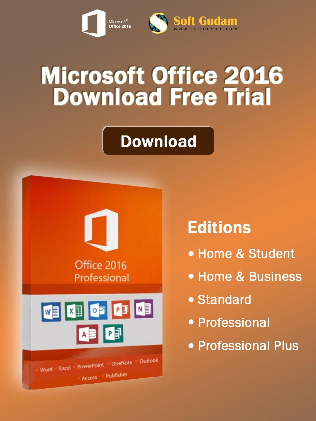 download ms office 2016 64 bit trial