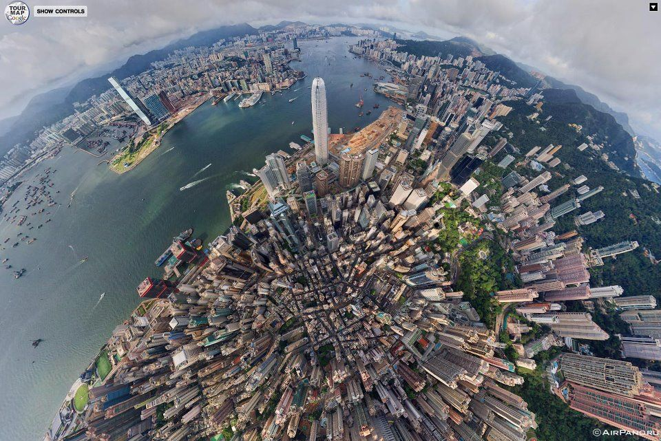 Hong Kong Aerial View Around The Worlds Pictures