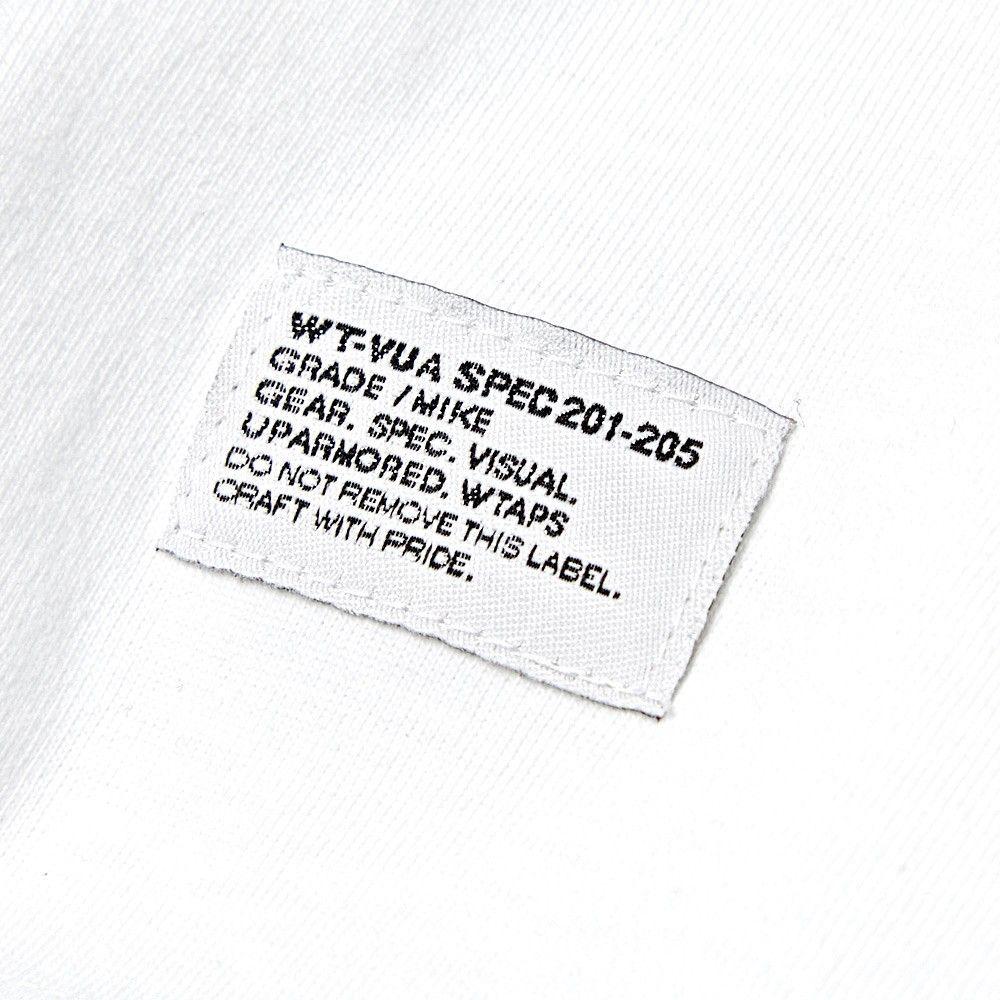 WTAPS WTVUA Tee (White) | woven label | Label tag, Clothing