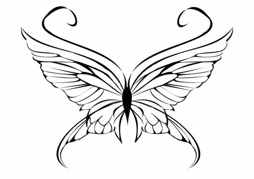 schmetterling malvorlage 09   Schmetterlingskunst ...