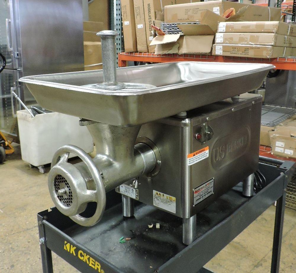Berkel e222 commercial meat mincer grinder 1 hp berkel