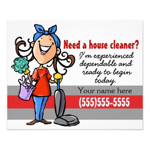Flyer tarjeta del promo 4x5 de la limpieza de la casa - Imagenes de limpieza de casas ...