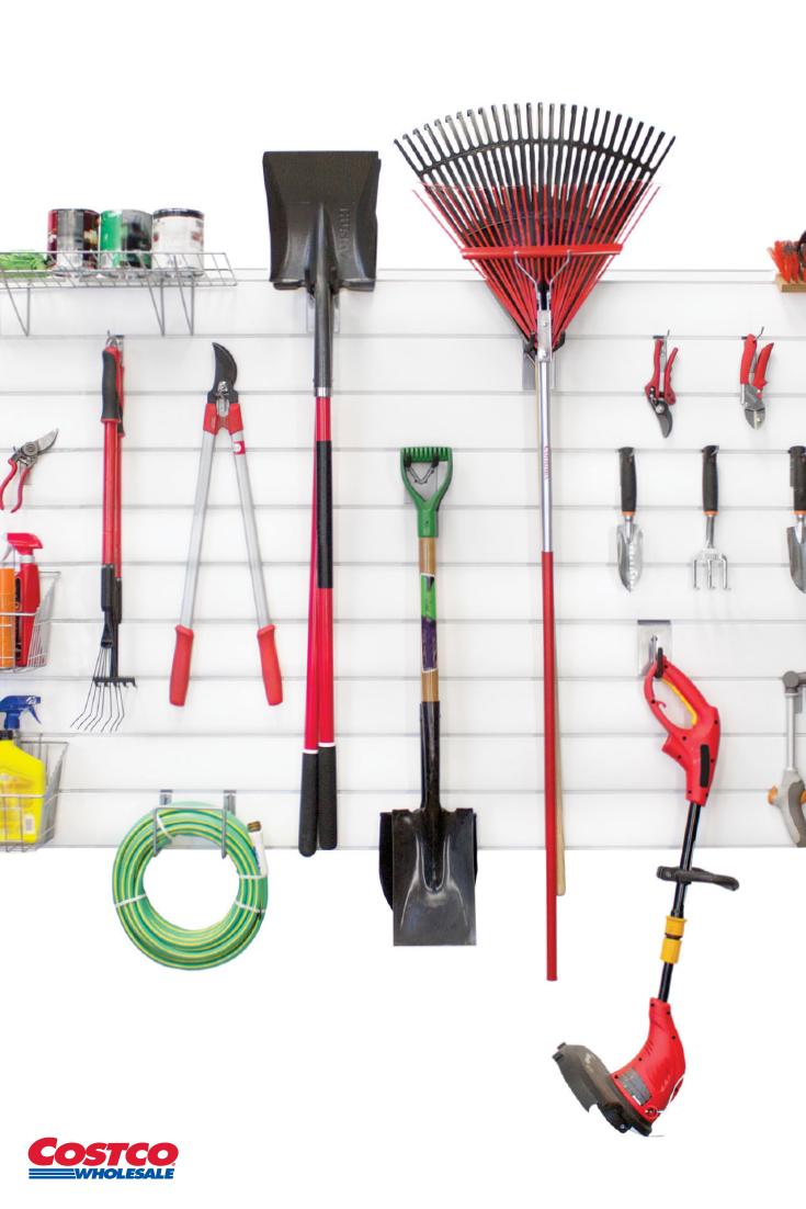 Proslat 8 Panel Set And 20 Piece Hook Kit Bundle Garage Storage Baby Gear Storage Garage Organization Tips