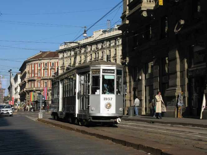 Delio Tessa And Milan S Trams Italian Ways Milan Italian Looking Out The Window
