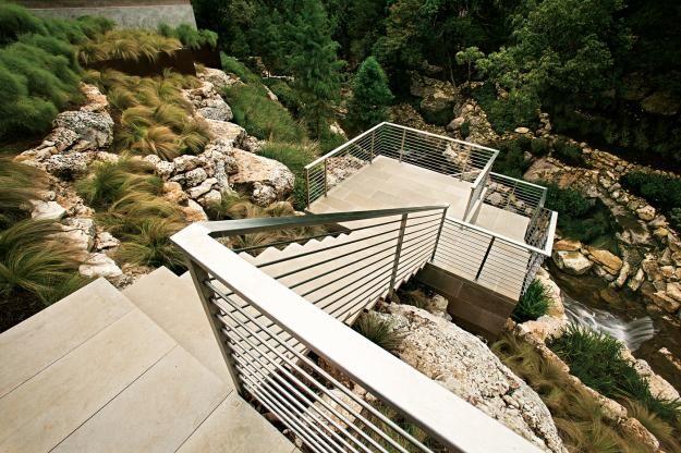A Tiered Garden in Austin, Texas, Slide Show | Garden Design - via http://bit.ly/epinner