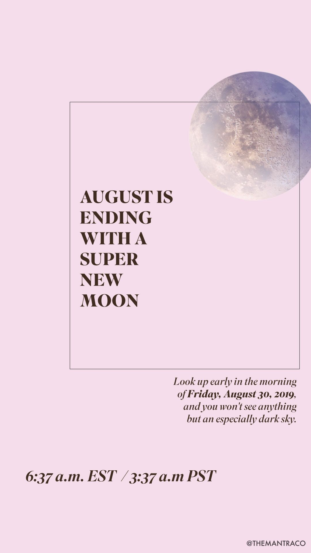 The August 2019 New Moon Is The Best Moon Phase In A Very Long