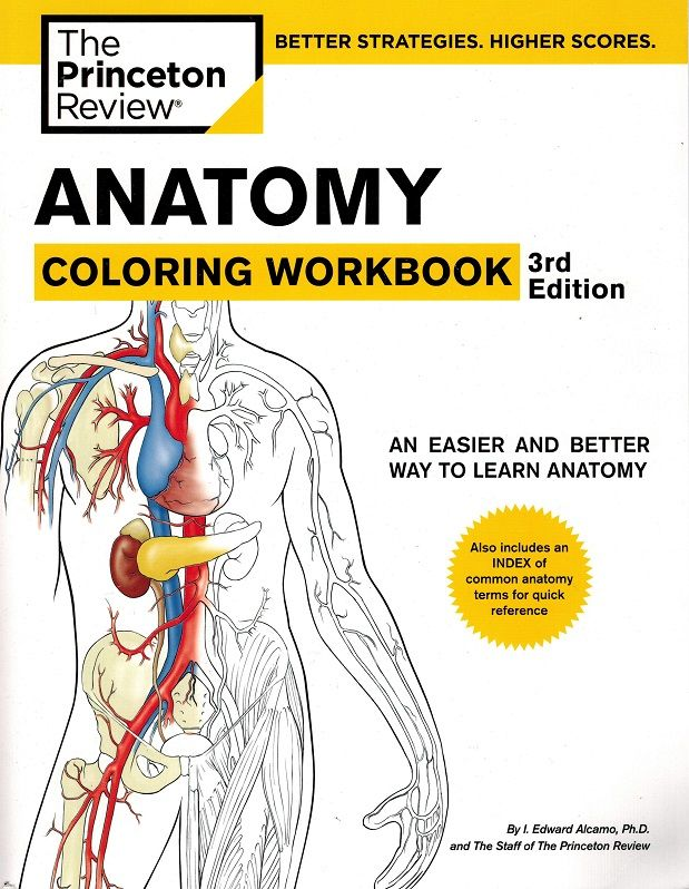 Princeton Anatomy Coloring Workbook For Imaging Professionals