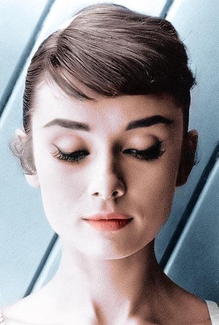 Audrey Audrey Hepburn Audrey Hepburn Audrey Hepburn Style - Audrey-hepburn-makeup
