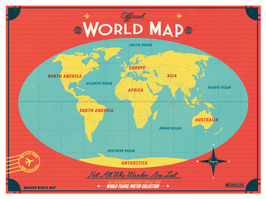 Modern world map by ideastorm media available for sale here http modern world map by ideastorm media available for sale here httpideastorm world mapstravel posters gumiabroncs Images