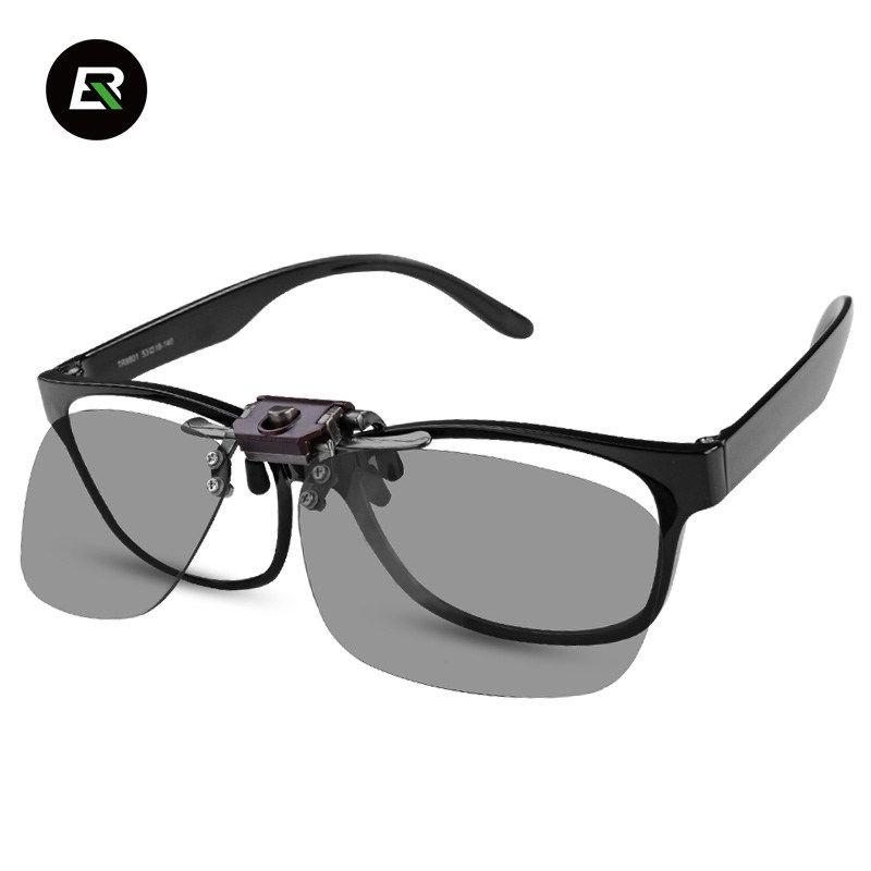 bfaf7e19d9c ROCKBROS Polarized Blue Cycling Glasses Clip Men Women Outdoor Sports Bike  Sunglasses Clip Bicycle Eyewear Driving Vision Lens