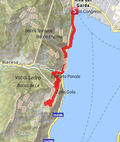 campingplätze gardasee karte Von Riva del Garda nach Pregasina | Gardasee urlaub, Urlaub