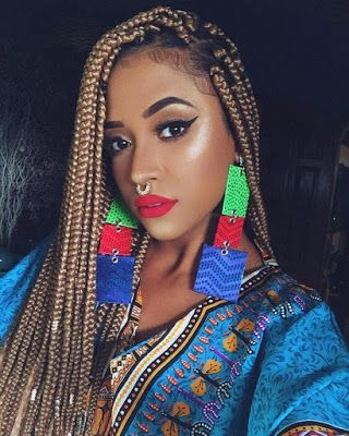Artistic Fulani Braid Crown Hairstyles 2018 For African
