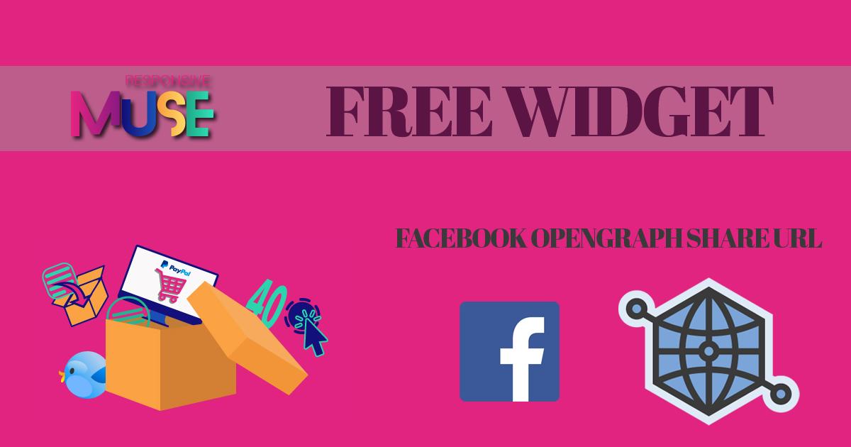 Free Muse Facebook Opengraph Widget | Free Adobe Muse