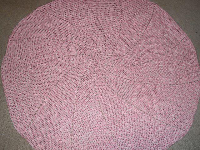 Spiral Baby Blanket pattern by Stephanie Soika | Häkeln und Stricken ...