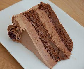 Jewish passover chocolate cake