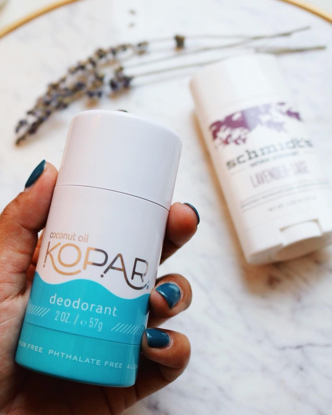 Have you thought about switching to a natural deodorant