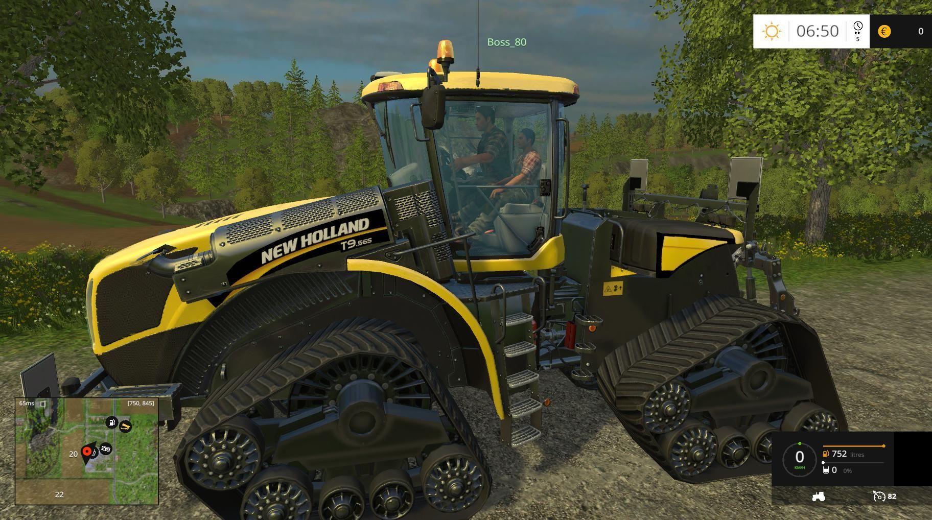 new holland smarttrax tractor v1 0 farming. Black Bedroom Furniture Sets. Home Design Ideas