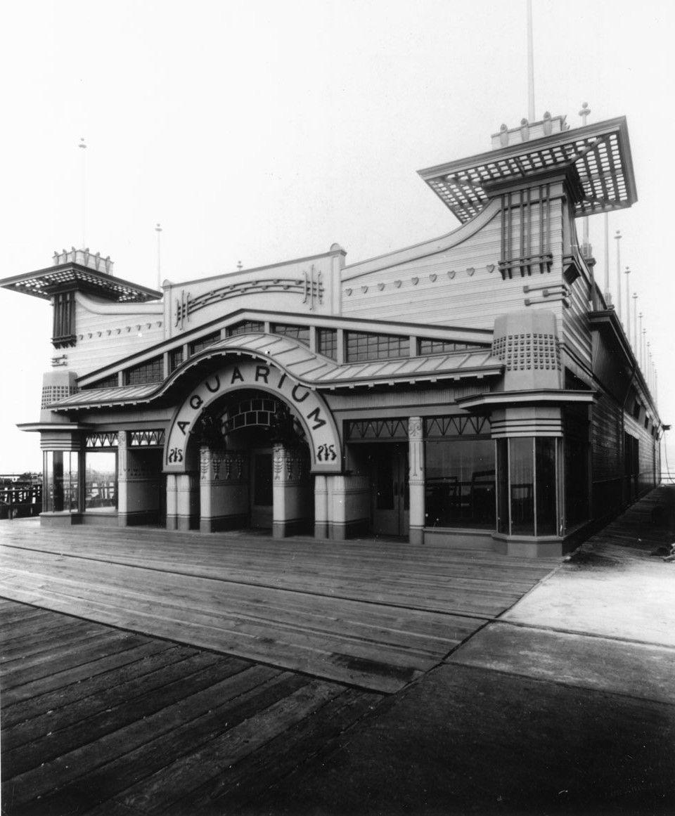 The Aquarium, Venice, California 1908