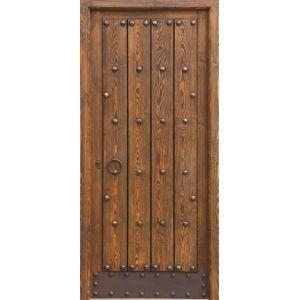 Puerta rustica 300 300 puertas for Puertas principales de madera rusticas