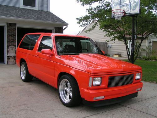 Awesome 2 Door Chevy S10 Chevrolet Blazer C10 Chevy Truck