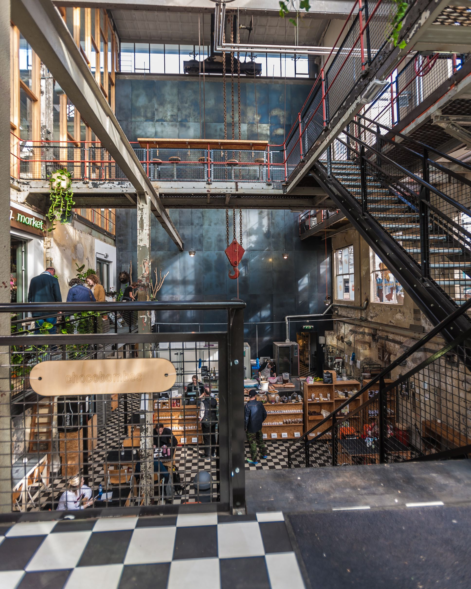 Places With A Soul Pastryclub In Eindhoven Axt Magazine Industrial Industrialstyle Architecture Eindhoven Club Design Interior Bathroom Industrial Chic